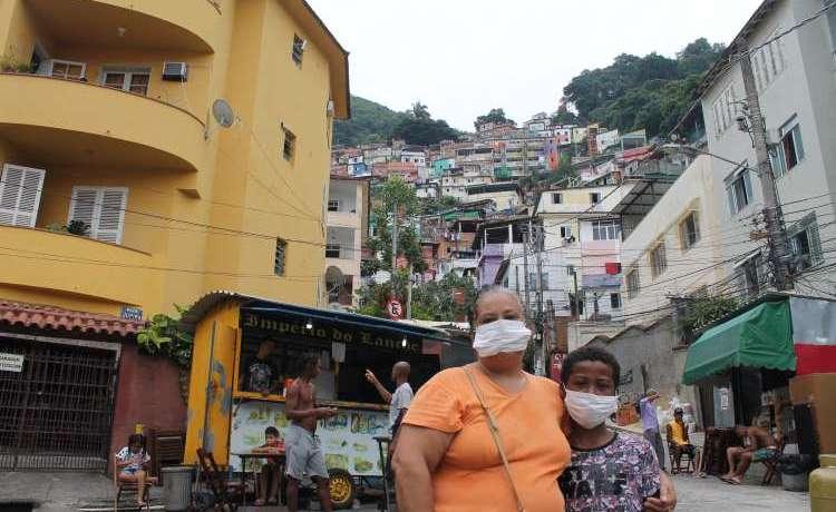 Moradora da favela do Santa Marta com suspeita de coronavírus